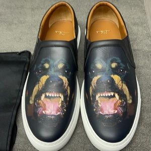 Men's Givenchy Rottweiler Street Skate Sneakers